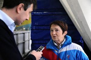 Тренер Тамара Москвина