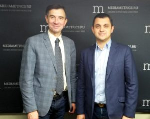 С ведущим передачи Медиаметрикс Доктор Муслимом Муслимовым